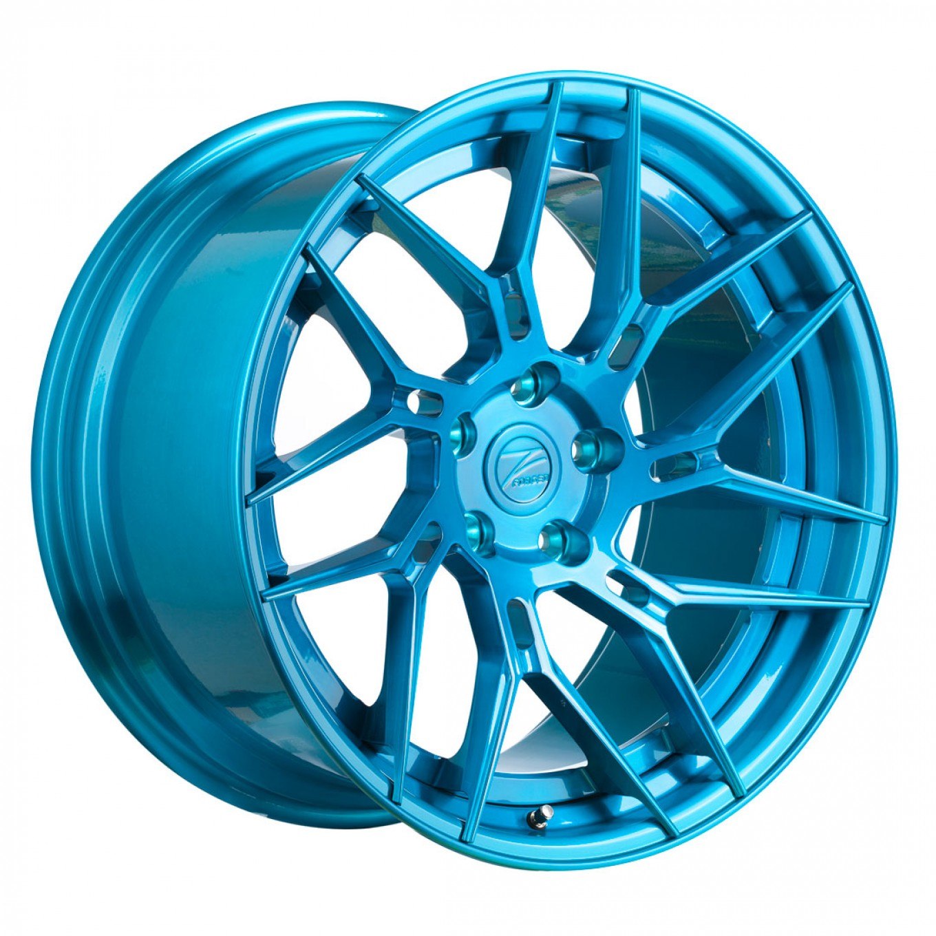 Z-Performance ZP.FORGED 5 Super Deep Concave Felgen in Brushed Royal Blue (2)
