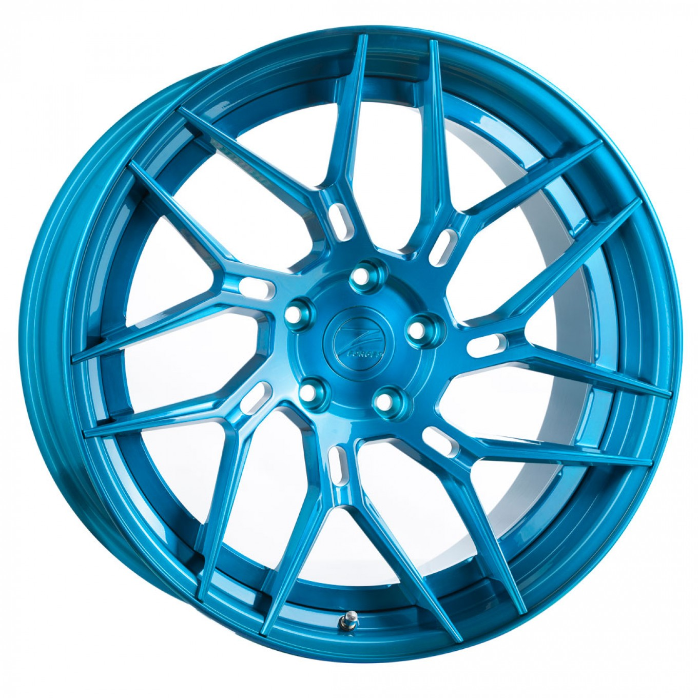 Z-Performance ZP.FORGED 5 Super Deep Concave Felgen in Brushed Royal Blue